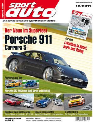 sport auto-Zeitschrift 12-2011