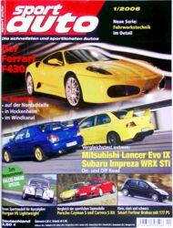 sportauto, Heft 01/2006