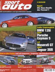 sportauto, Heft 01/2008