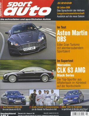 sportauto, Heft 03/2008