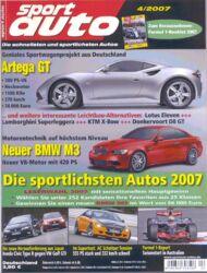 sportauto, Heft 04/2007