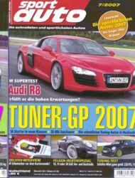 sportauto, Heft 07/2007