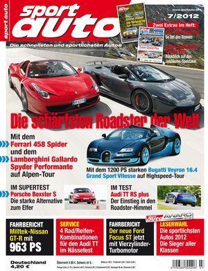 sportauto Heft 07/2012