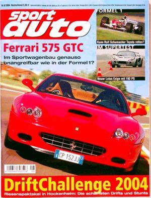 sportauto, Heft 08/2004