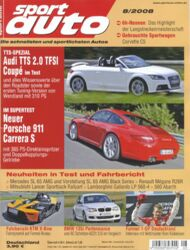 sportauto, Heft 08/2008