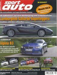 sportauto, Heft 09/2007