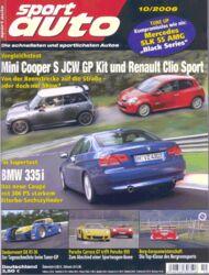 sportauto, Heft 10/2006