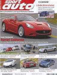 sportauto, Heft 11/2008
