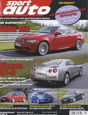 sportauto, Heft 12/2007