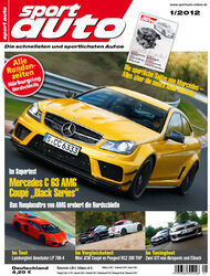 sportauto Heftcover 01/2012