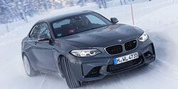 sportauto Winterreifentest 2018, BMW M2, Handling