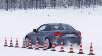 sportauto Winterreifentest 2018, BMW M2, Traktion