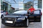 van Bommel, FC Bayern München, Fußballer und Autos, Audi A8