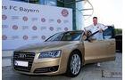 van Gaal, FC Bayern München, Fußballer und Autos, Audi A8
