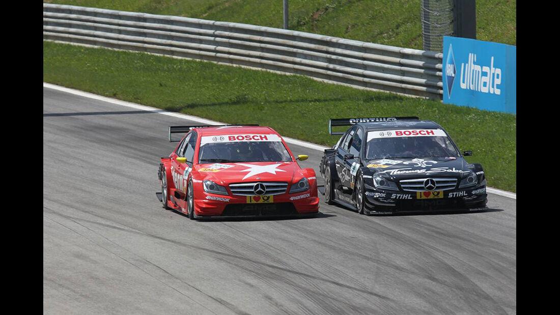 van der Zande, Paffett, Mercedes C-Klasse DTM, DTM, Spielberg, 2011